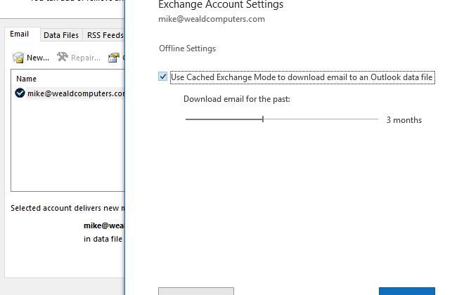 Outlook 365 Performance and File Sizes